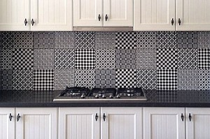 Kitchen Tiles Geelong using feature tiles in a kitchen – kylie sargent